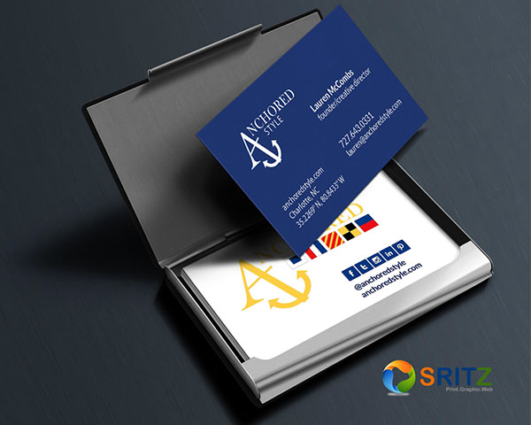 Business cards sritz print graphic web business cards reheart Images